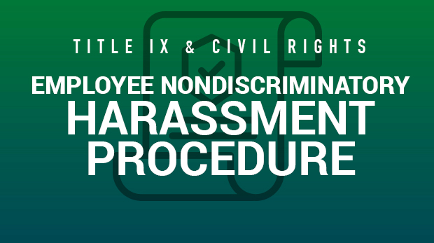 Employee-Nondiscriminatory-Harassment-Procedure