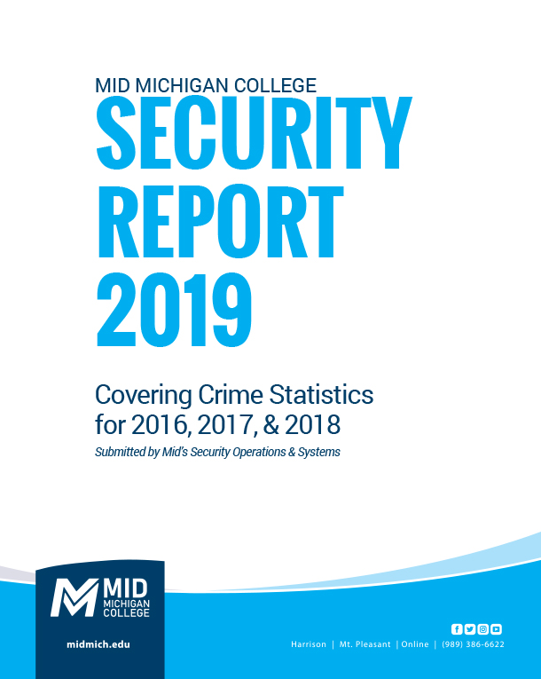 Cover of Annual Security Report 2019