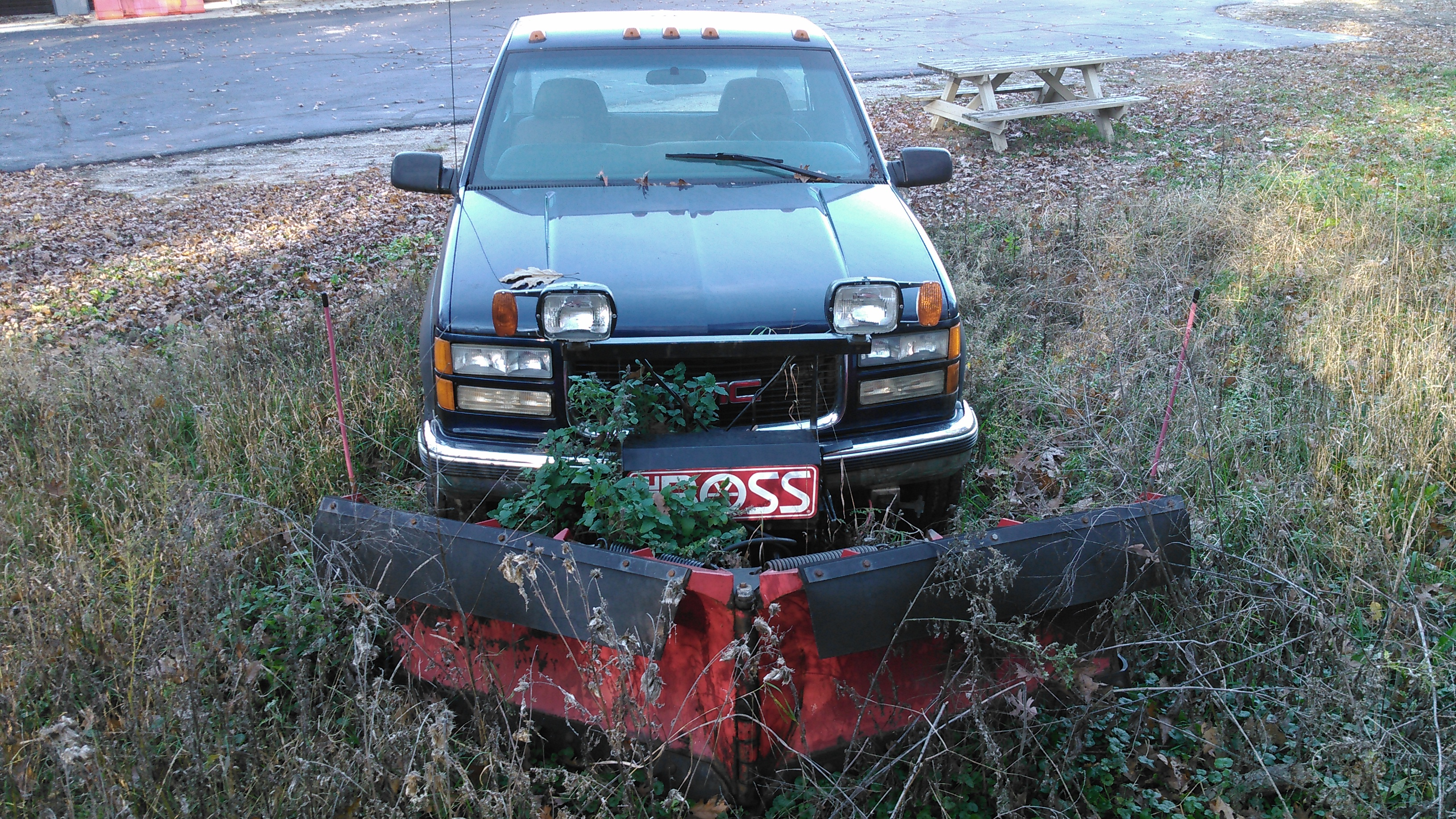 Gmc Truck Boss Plow For Sale Mid Michigan College