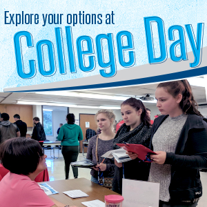 College day event thumbnail. Student learn out college at our event