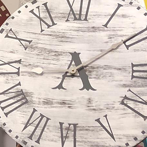 farmhouse clocks craft project class
