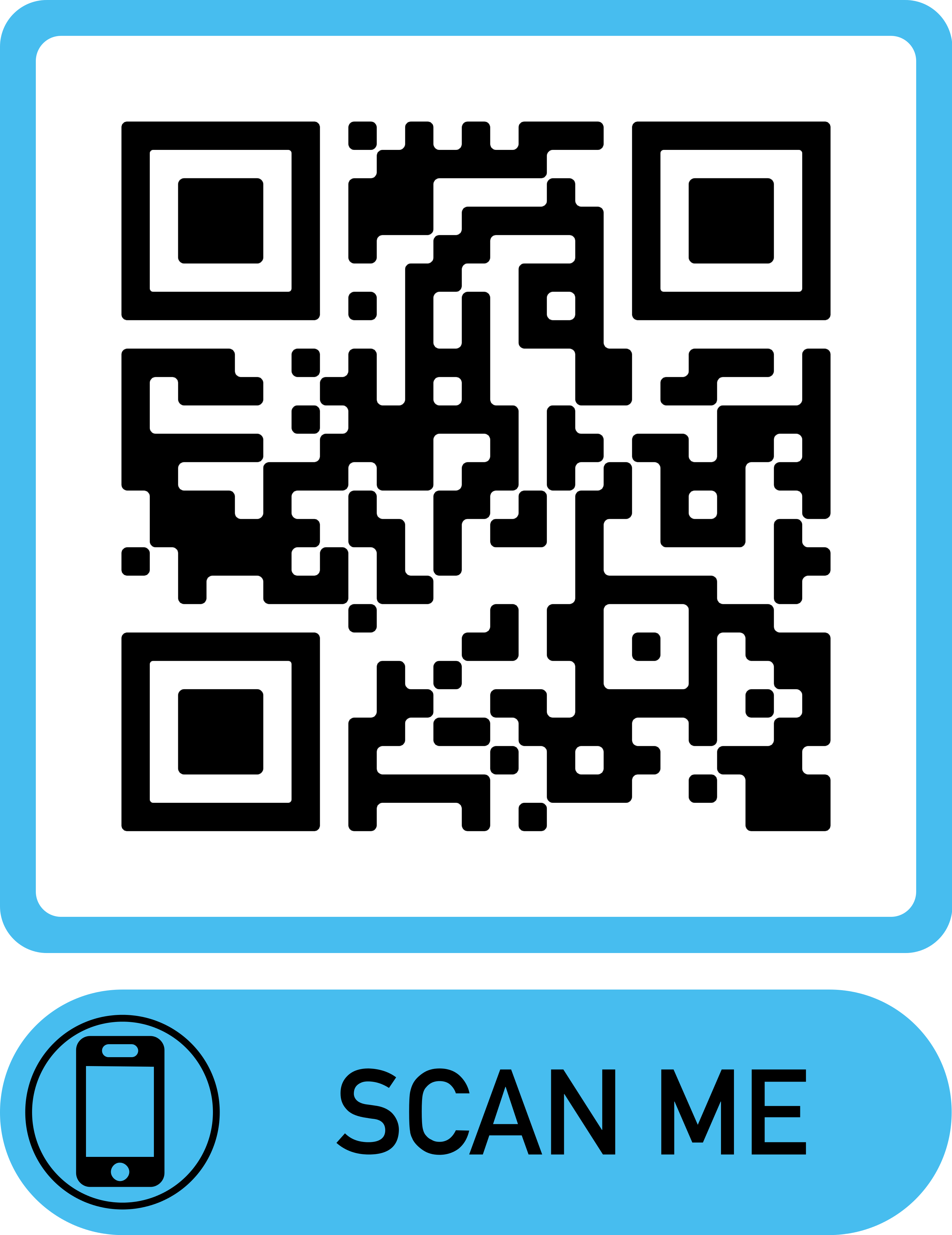 Students can enter the Team Toss Challenge using this QR Code.