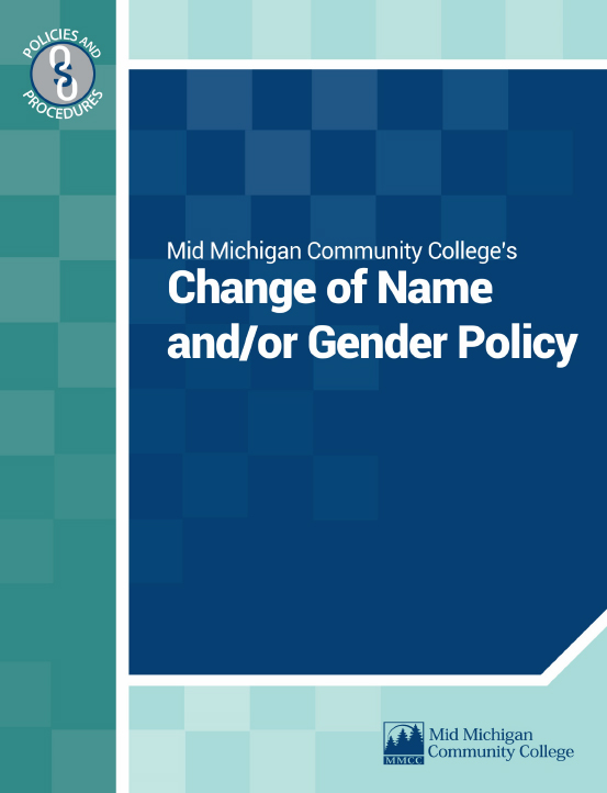 Change of Name and/or Gender Policy Cover