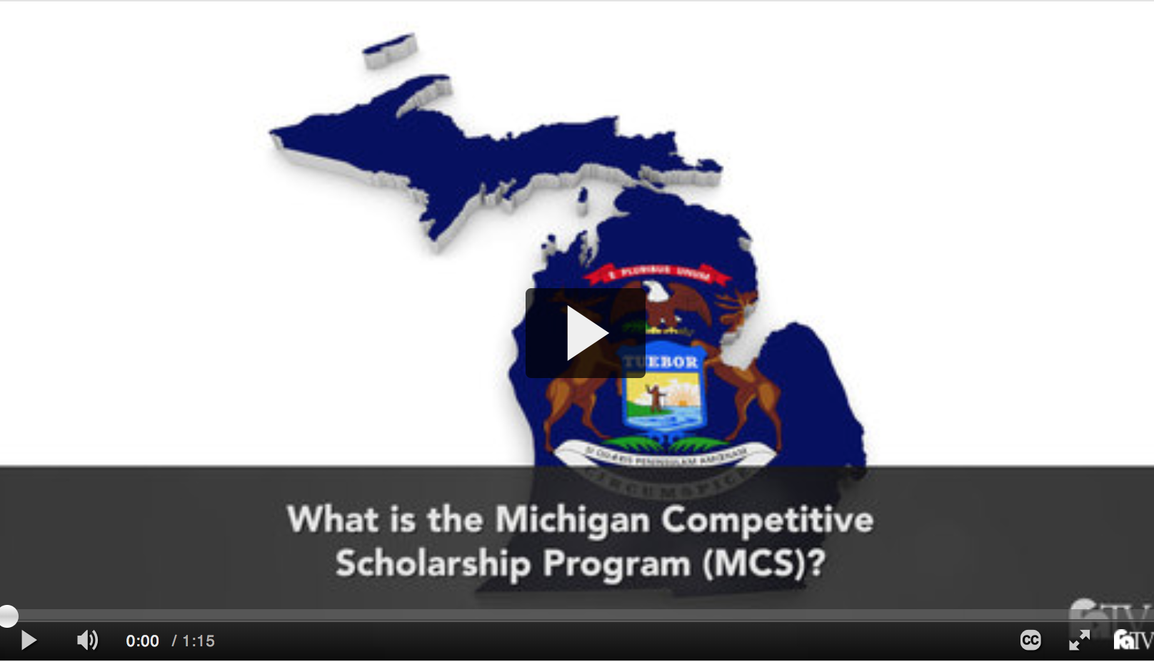 Financial Aid TV: Michigan Competitive Scholarship Program videos