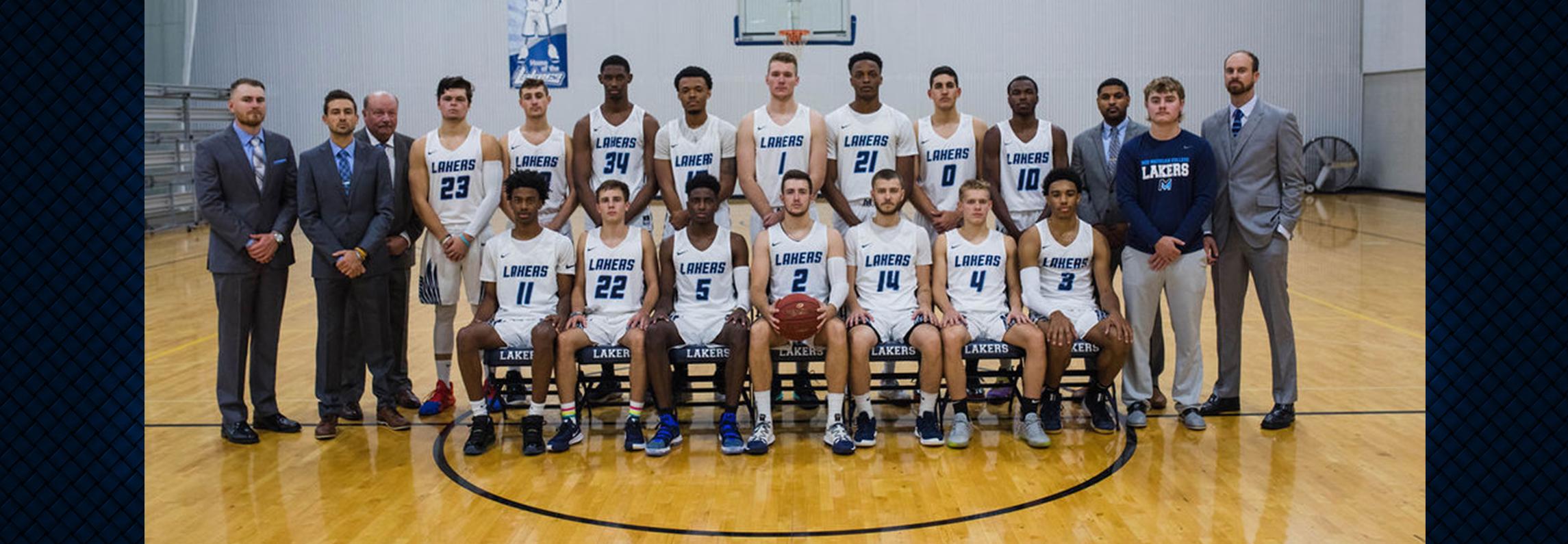 2018-2019 Men's Basketball Team