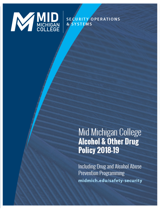 Cover image of Mid's Alcohol & Other Drugs Policy PDF