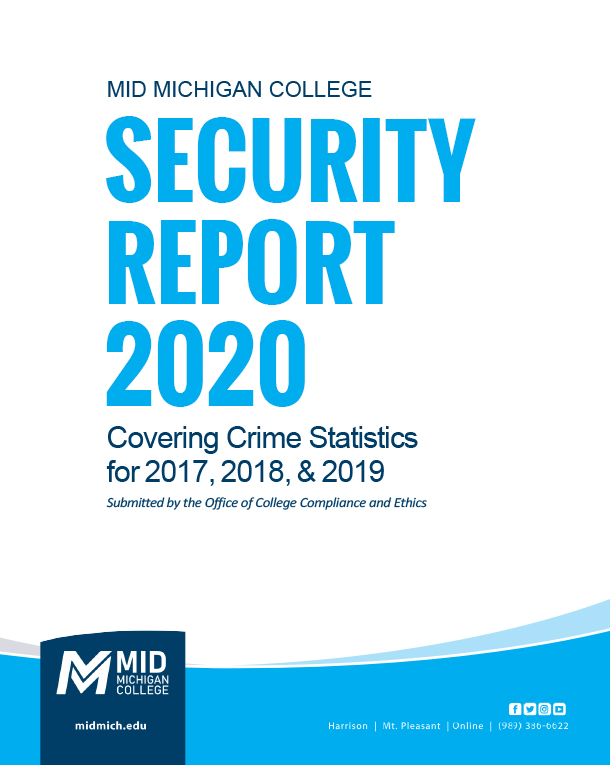 Cover of 2020 Annual Security Report
