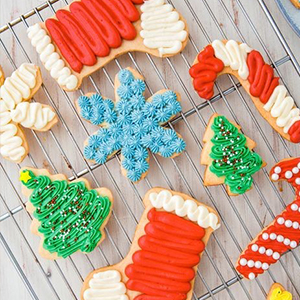 Kid's Holiday Cookie Decorating