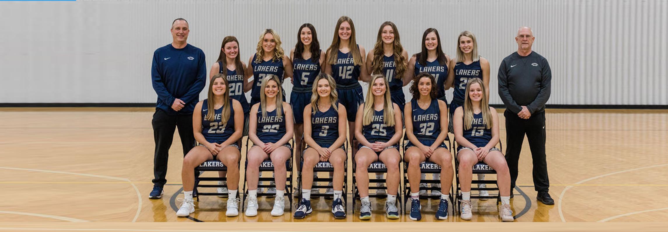 Women's Basketball team photo 2018-19
