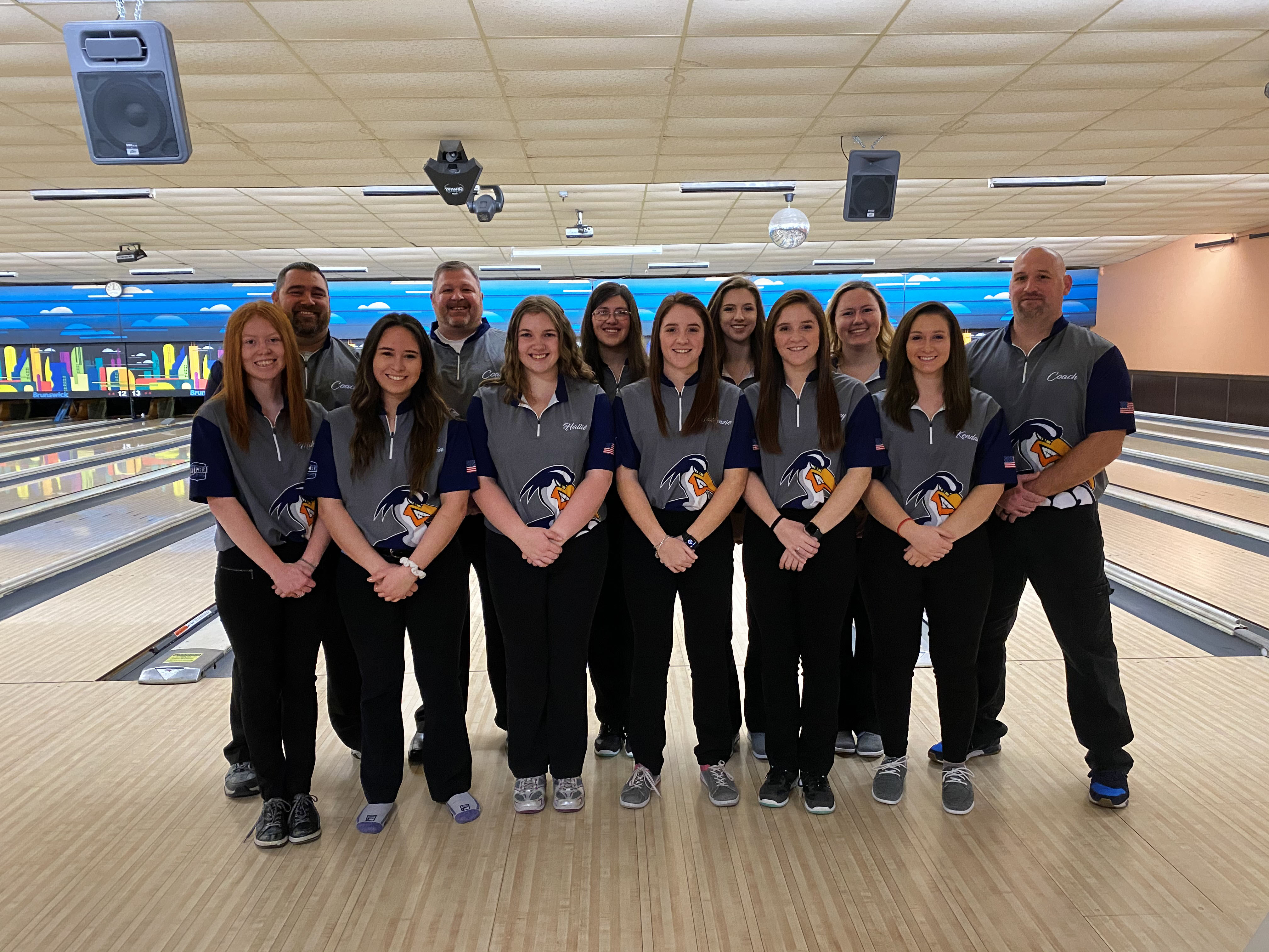 2019-2020 Women's Bowling Team Photo