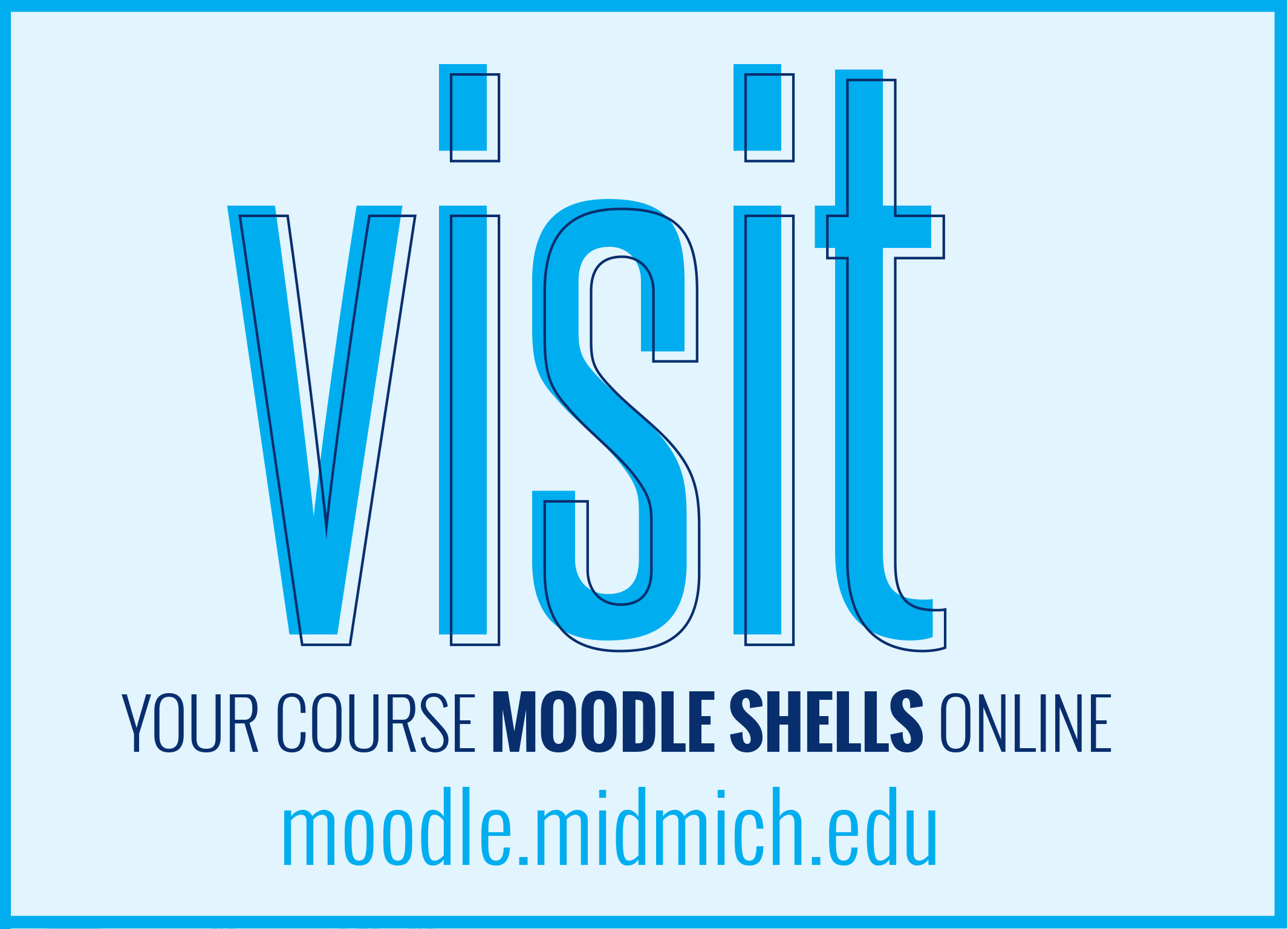 Visit the Moodle Shell