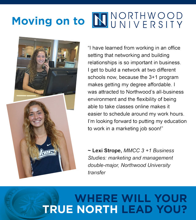 Lexi Strope, 3+1 Northwood University Transfer Student