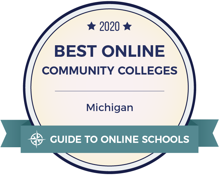 Mid Ranked #2 Online Community College in Michigan