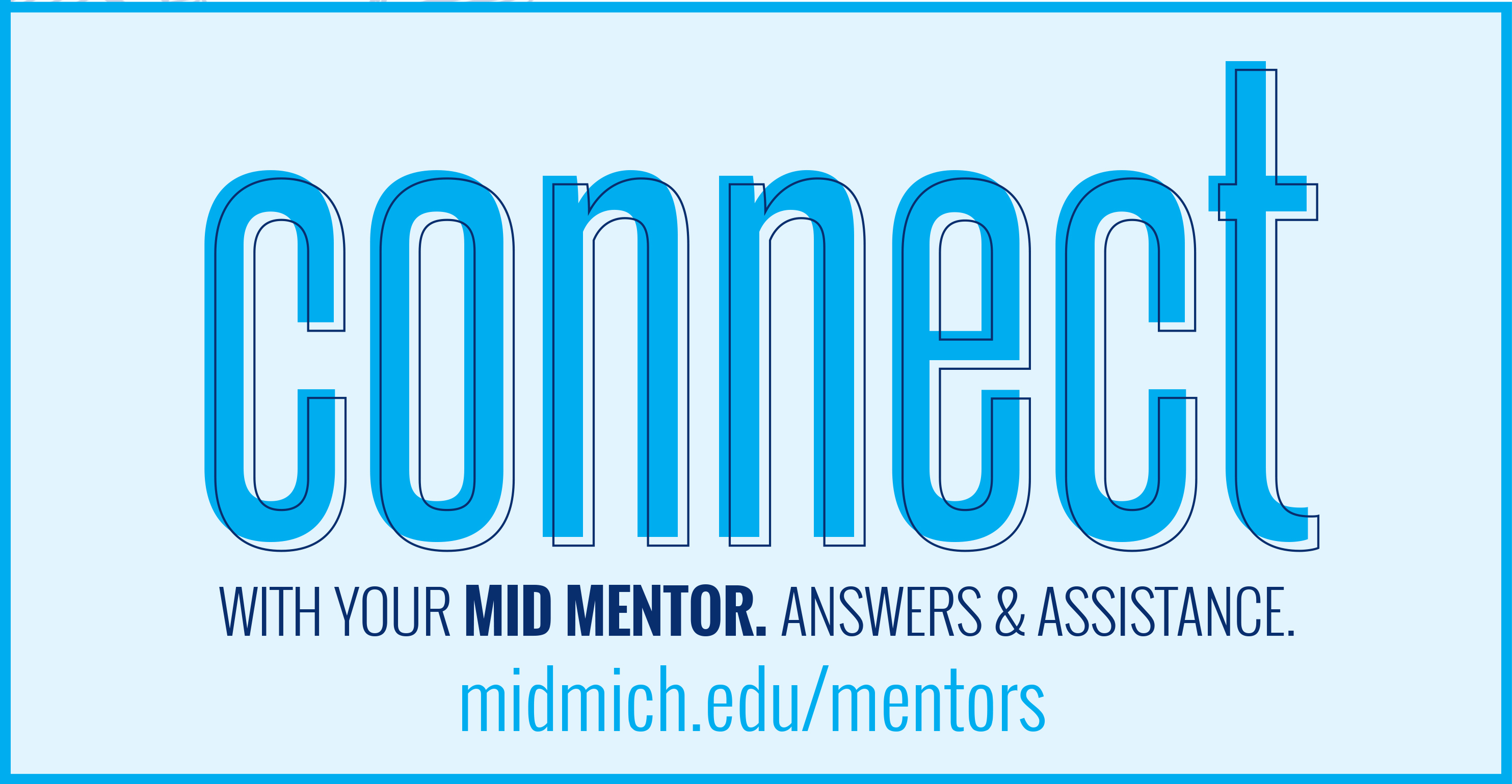 Connect with your Mid Mentor