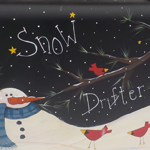 Snow Drifter Suitcase
