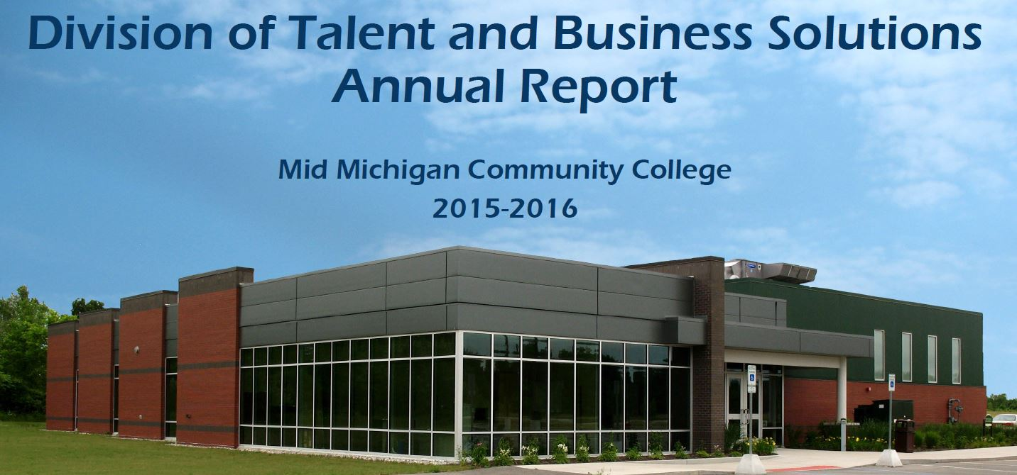 Division of Talent and Business Solutions Annual Report