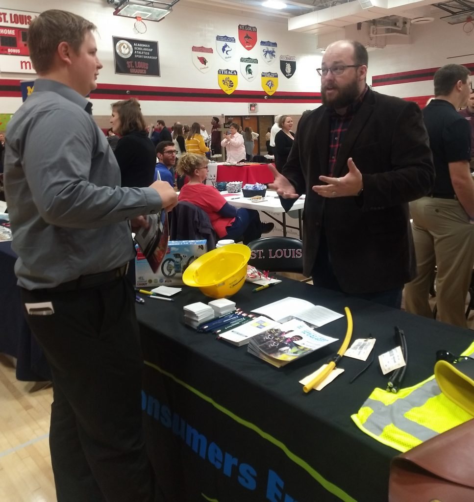 Consumers Energy wants students to know they hire more than just linemen.
