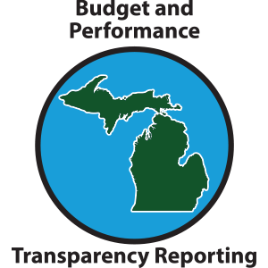 Budget and Performance State of Michigan Transparency Reporting